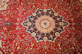 Turkish carpet detail as background — Stock Photo