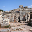 Ancient ephesus ruins - Stock Photo