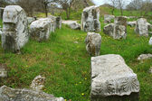 Ruins of ancient troia city, Canakkale,Dardanelles, Turkey — ストック写真