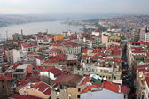 Istanbul roof landscape — Stock Photo