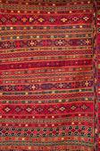 Beautiful turkish carpet with pattern — Stock Photo