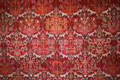 Beautiful turkish carpet with pattern — Stock Photo