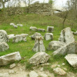 Ruins of ancient troy city, Canakkale, Dardanelles, Turkey — Stock Photo #25482023