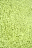 Towel green background — Foto de Stock