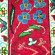 Antique turkish carpet — Stock Photo
