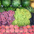 Fruits at bazaar — Stock Photo