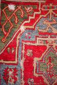 アンティークのトルコのカーペット — ストック写真