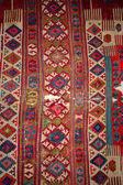 Piękne turecki dywan z wzór — Zdjęcie stockowe