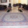 Stock Photo: Carpet at living room