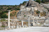 Ephesus ruins in izmir-turkey — Stock Photo