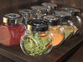 Spices in jar — Stock Photo