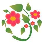 Flower vector — Stock Photo