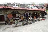 Antique bazaar at street in Safranbolu in Turkey — Stock Photo