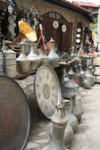 Souvenir shop at Safranbolu Touristic cirty, turkey — Stock Photo