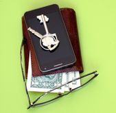 Set of subjects for the businessman — Stock Photo