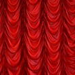 Curtain on window, curtain — Stock Photo #23304110