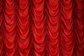Curtain on a window, a curtain — Stock Photo