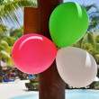 Three balloons — Stock Photo