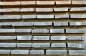 Stack from wooden boards — Stockfoto