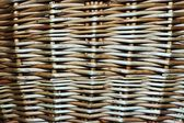 Abstract background from the weaved wooden rods — Stock Photo