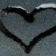 Love symbol in the form of a heart — ストック写真