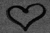 Symbol of love - a heart — Stock Photo