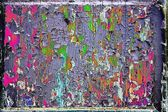 Abstract texture of a color foil — Stock Photo