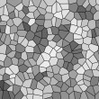 Stock Photo: Abstract texture of gray mosaic