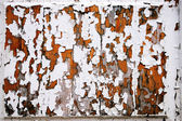 Texture of the peeled-off old paint — Stock Photo