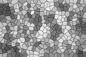 Abstract texture of a gray mosaic — Stock Photo