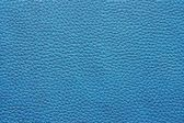 Leather material of blue color — Stock Photo
