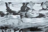 Zilverachtige grijze abstract puttend uit stof — Stockfoto