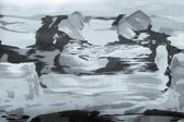 Achtergrond abstract puttend uit grijze stof — Stockfoto