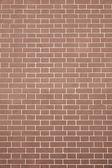 Texture brick wall light brown color — Stockfoto