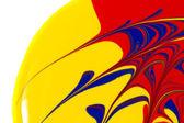Абстрактный краской завитки — Стоковое фото