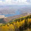Stock Photo: Overlooking Park City, Utah
