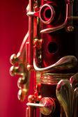 Soprano clarinet — Stock Photo