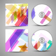 Vector cd cover set for your design — Stock Vector #25621963