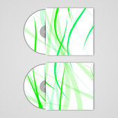 Vector cd cover set for your design — Wektor stockowy