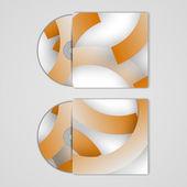 Capa de cd vetor definido para seu projeto — Vetorial Stock