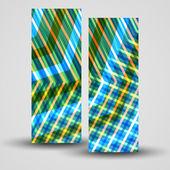 Bandeira de vetor definido para seu projeto — Vetorial Stock