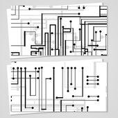 Vektor-vizitka pro váš design — Stock vektor
