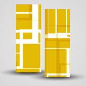 Bannière de vecteur pour votre conception — Vecteur