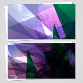 艾克名片设置为您的设计 — 图库矢量图片