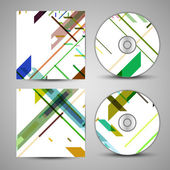 Vector cd cover set for your design — ストックベクタ