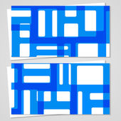 Vector-carte de visite pour votre conception — Vecteur