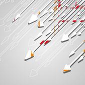 Arrow design background. — Stock Vector