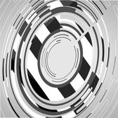 Abstracte technologie cirkels achtergrond — Stockvector