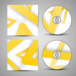 Vector cd cover set for your design — Stock Vector #30542899
