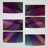 Vector-cartão de visita para seu projeto — Vetorial Stock